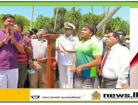 'Blue Beach Island Underwater Gallery' opened off Nilwella Coast