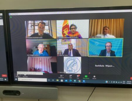 FOREIGN MINISTRY HOSTS WEBINAR TO REVIEW MEASURES OF PORT STATE CONTROL AND MARITIME SAFETY AND SECURITY IN THE INDIAN OCEAN REGION