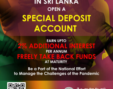 Special Deposit Account (SDA) in Overseas to Attract Foreign Investments into Sri Lanka